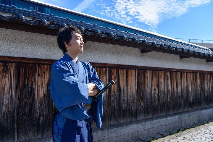 Samurai Kimono Cosplay Experience, Kanazawa, JAPON