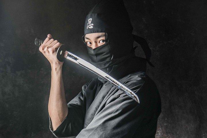 Ninja Cosplay Experience, Kanazawa, JAPON