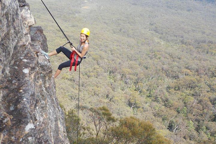 Juggler Canyon and Abseiling Adventure Blue Mountains, Montañas Azules, Austrália