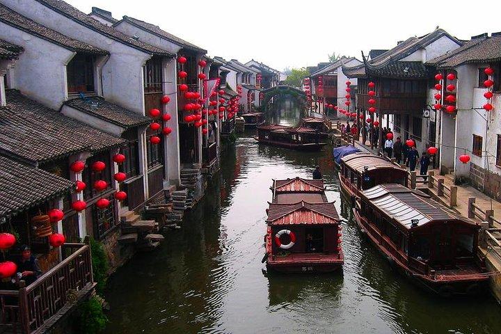 Mini Group: One-Day Zhouzhuang and Jinxi Water Town Tour, Shanghai, CHINA