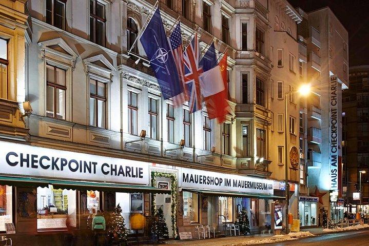 Bilhete de entrada a Mauermuseum Checkpoint Charlie em Berlim, Berlim, Alemanha