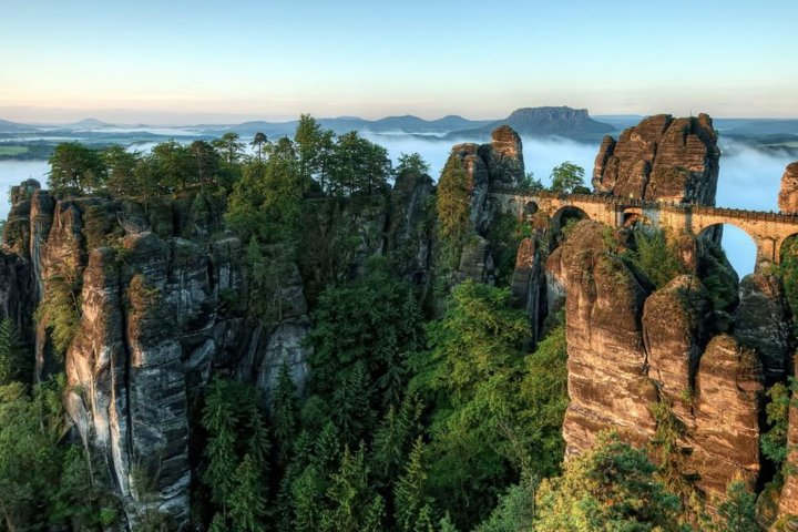 Small-Group Bastei Bridge and Königstein Fortress Day Tour from Dresden, Dresden, GERMANY