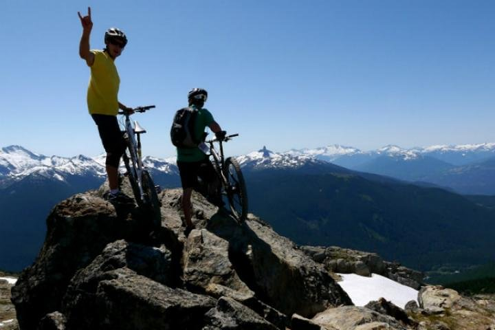 Aventura de bicicleta de montanha de dia inteiro nos Andes, Mendoza, ARGENTINA