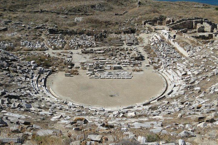 Visita a Delos desde Mykonos Medio Día, Miconos, GRECIA