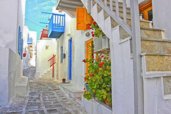 Visita Mykonos Chora & Playas Medio Día, Miconos, GRECIA