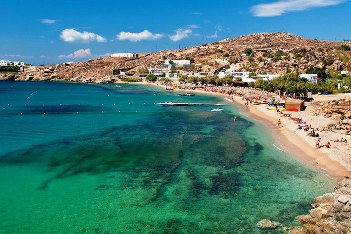 Mini Crucero Playas del Sur Mykonos Día Completo, Miconos, GRECIA