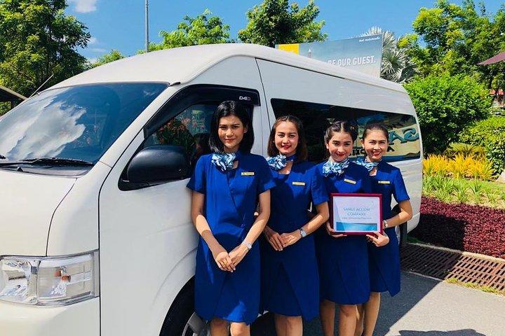 Private Airport Transfer in Koh Samui Minivan 10 PAX, Surat Thani, TAILANDIA