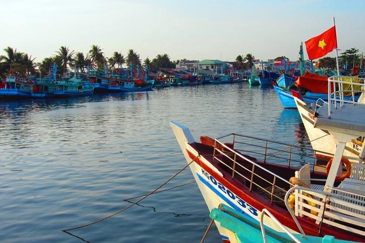 Phu Quoc Sunset and Night Squid Fishing, Phu Quoc, VIETNAM
