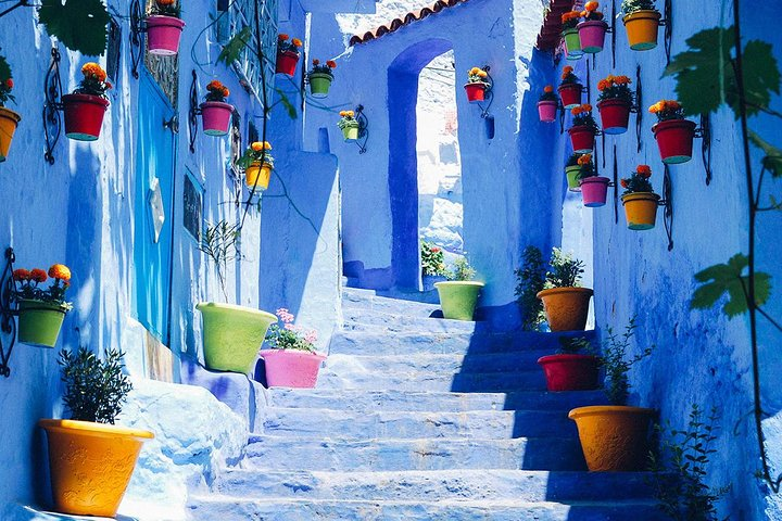 Private Day Trip to Chefchaouen, Fez, MARROCOS