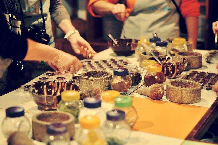 Bean-to-Bar Chocolate Workshop in ChocoMuseo Lima Miraflores, Lima, PERU