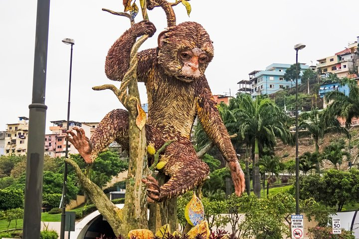 Guayaquil Layover Sightseeing Tour with Round-Trip Airport Transport, Guayaquil, ECUADOR