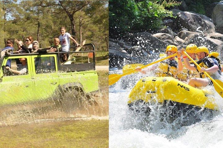 Rafting & Jeep Safari Adventure from Kemer, Kemer, TURQUIA