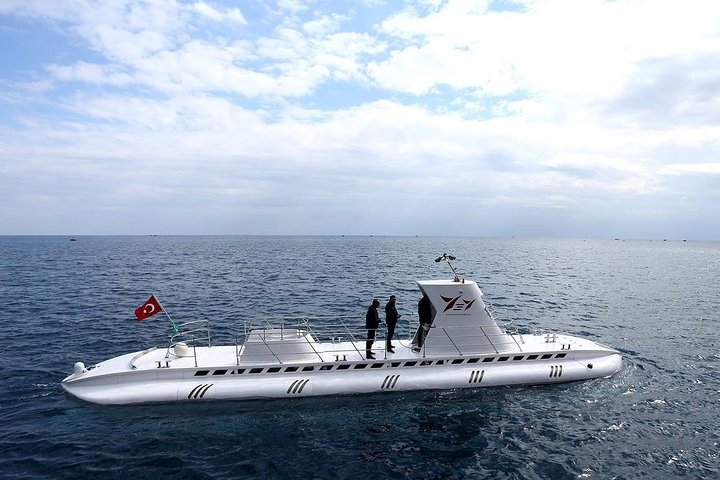 Submarine NEMO Excursion with transfer from Kemer, Antalya, TURQUIA