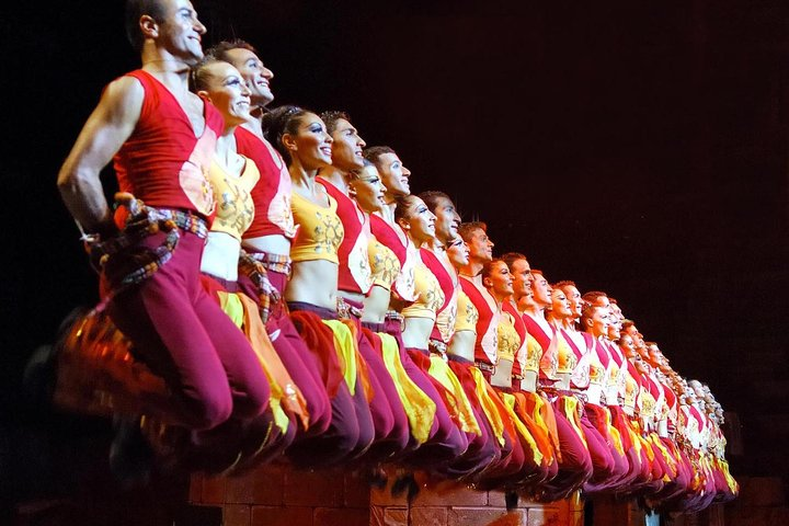 Fire of Anatolia Show at Gloria Aspendos Arena from Side, Side, TURQUIA
