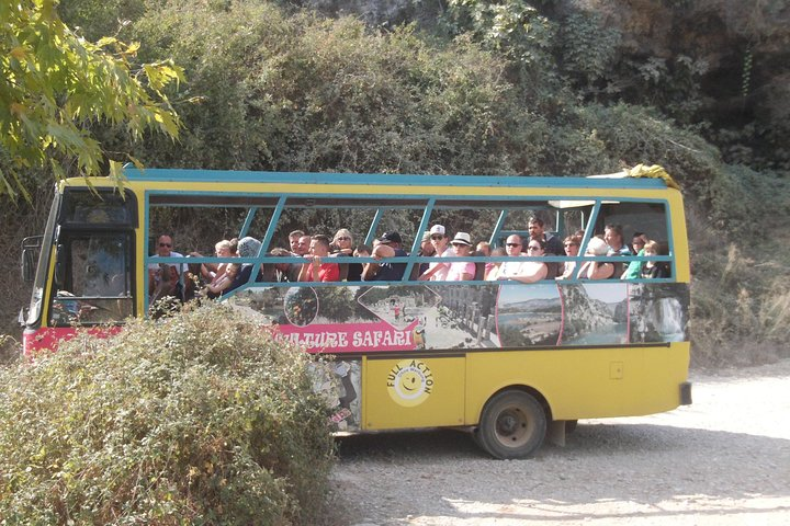 Cabrio Bus Safari at the Taurus Mountains from Side, Side, TURQUIA