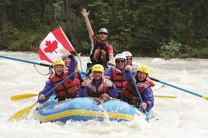Class 3 Sunwapta River Rafting Adventure in Jasper, Jasper, CANADA