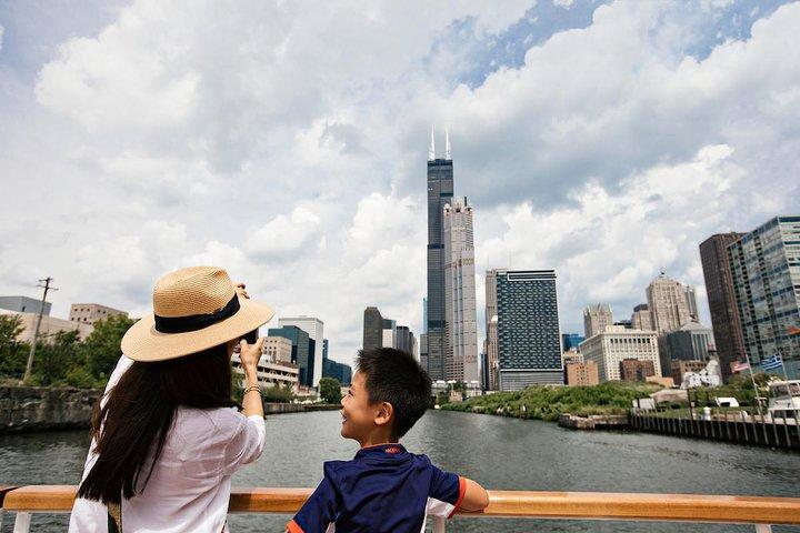 Crucero arquitectónico por el río, Chicago, IL, ESTADOS UNIDOS