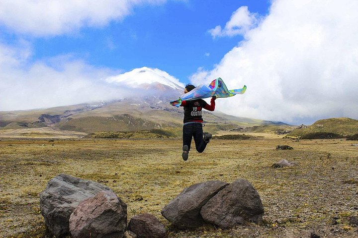 Excursão de dia inteiro para Cotopaxi saindo de Quito com café da manhã e almoço, Quito, Equador