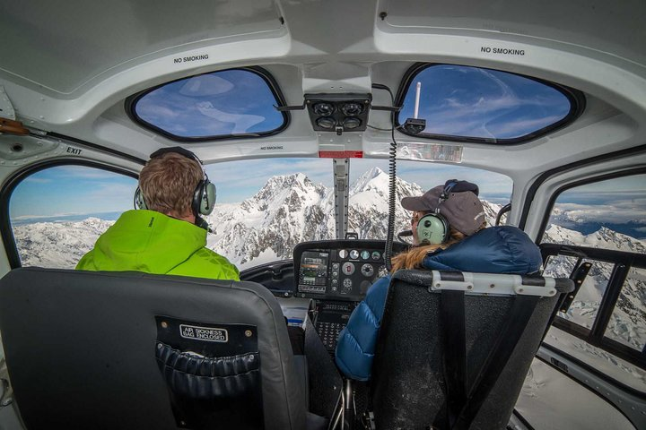 Mount Cook Mountains High Helicopter Flight, Mount Cook, NUEVA ZELANDIA