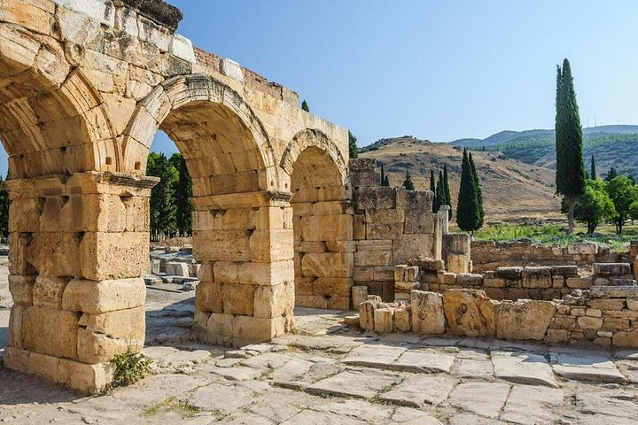 Full-Day Pamukkale Hot springs and Hierapolis Ancient City from Side, Side, TURQUIA