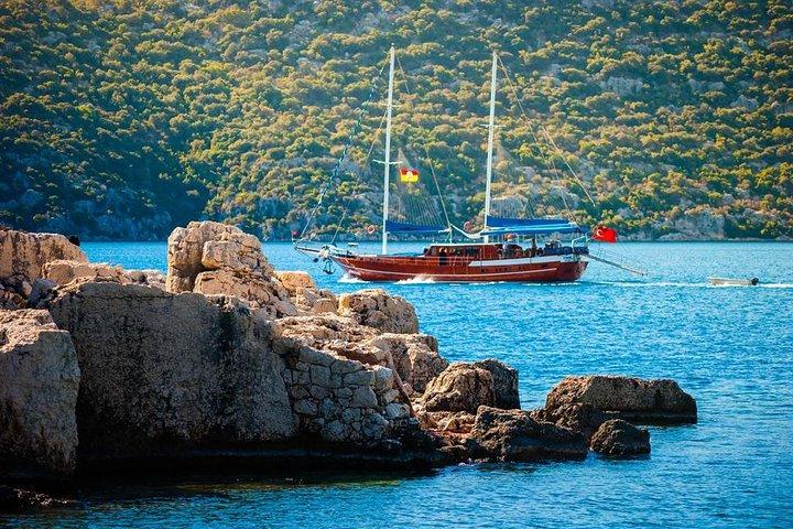 St Nicholas Treasures and Cruise to Sunken Kekova Island From Side, Side, TURQUIA