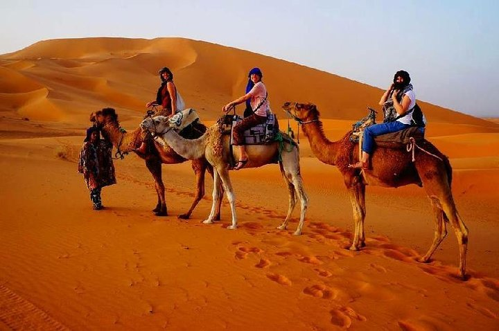 3 Days Desert Group Tour to Marrakech from Fes with Night in Erg Chebbi, Fez, MARRUECOS