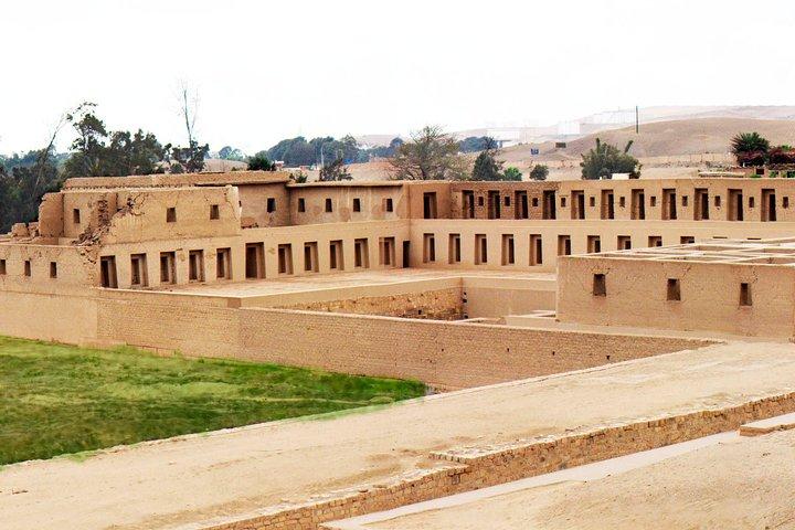 Tour to Pachacamac Temple - visits to Barranco & Chorrillos, Lima, PERU