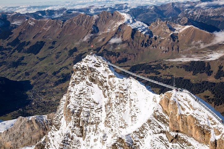 Riviera Col du Pillon & Glacier 3000: High Level Experience Swiss Alps from Lausanne, Lausana, Switzerland