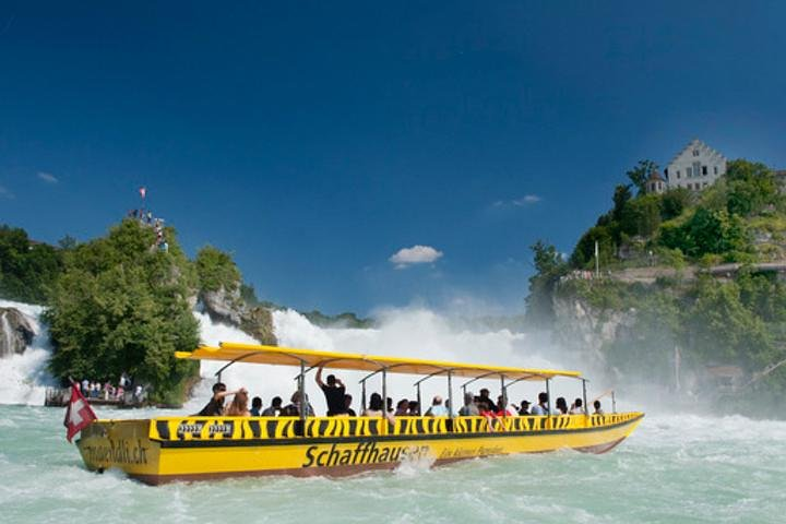 Rhine Falls Half-Day Trip from Basel with Hotel Pickup and Drop-off, Basilea, SUIZA