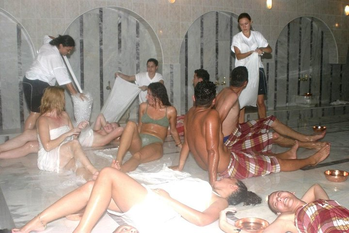 Turkish Bath with Oil Massage from Side, Side, TURQUIA