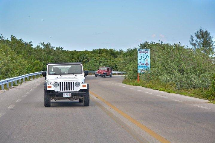 Excursión privada en jeep en Cozumel con almuerzo y esnórquel, Cozumel, MEXICO