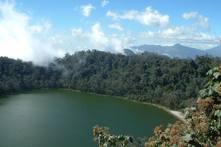 Trek to Chicabal Volcano and Lagoon, Quetzaltenango, Guatemala