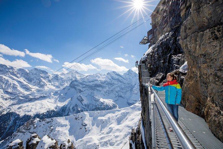Schilthorn Piz Gloria (James Bond Location) Private Tour from Bern, Berna, SUIZA