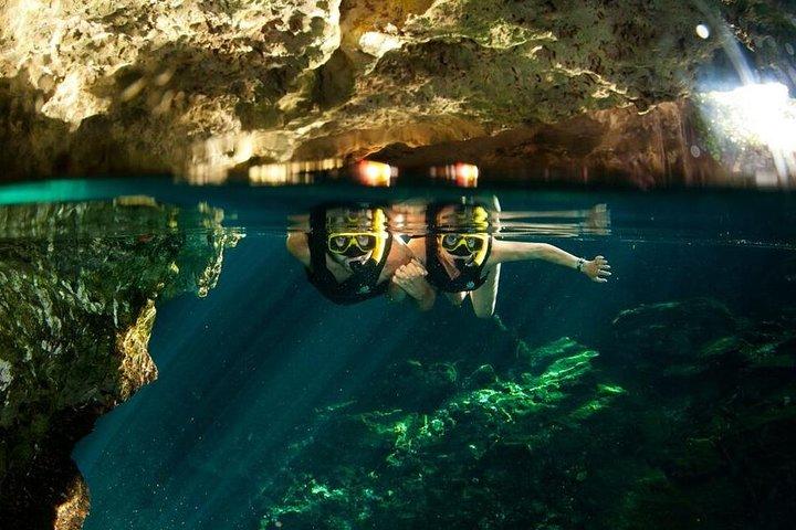 Excursão pela selva de Playa del Carmen: Tulum, mergulho no cenote, passeio em veículo 4x4 e tirolesa, Tulum, MÉXICO