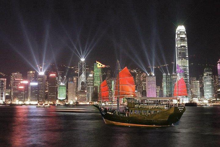 Aqua Luna: Symphony of Lights Cruise in Hong Kong, Hong Kong, CHINA