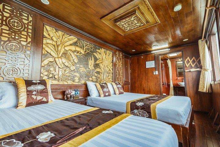 Bai Tu Long Bay 3-Day Luxury Cruise with Meals, Activities, and Hanoi Pickup, Hanoi, VIETNAM