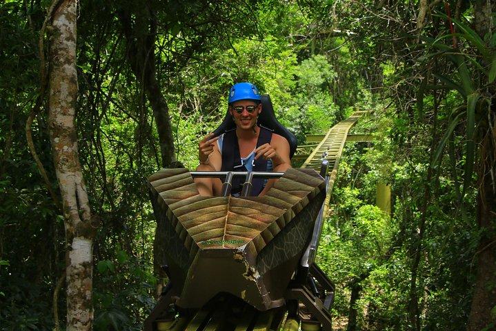 Tirolesas en la Riviera Maya + Cenote + ATV en Selvatica, Tulum, MEXICO