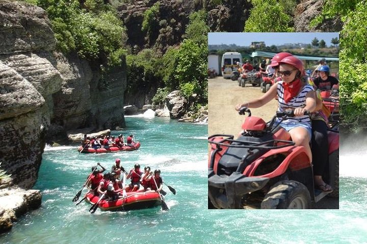Quad Safari & Rafting Adventure, Side, TURQUIA