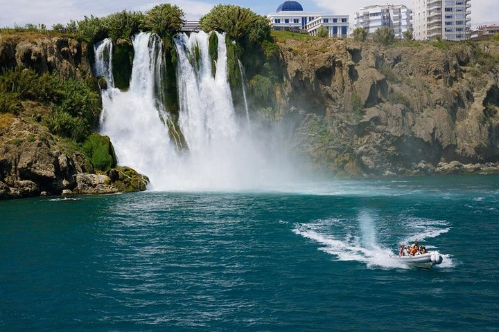 Antalya Old Town, Waterfall and Cable Car trip from Side, Side, TURQUIA