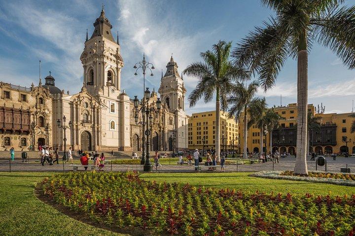 Lima em um dia: Excursão turística pela cidade, Museu Larco e o Circuito Mágico da Água, Lima, PERU