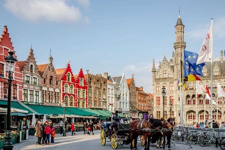 One day in Bruges from Paris with driver and guide, Paris, FRANCE