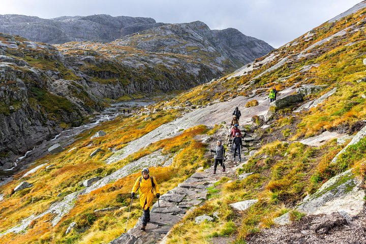 Kjerag Autumn Hike, Stavanger, NORWAY