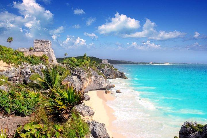 Excursão a Cobá, Tulum, Caverna Hilarios e Playa Paraiso saindo de Playa del Carmen, Playa del Carmen, MÉXICO
