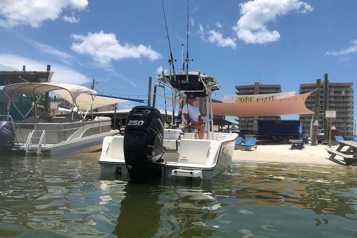 4 or 6-Hour Private Island Hopping Cruise from Orange Beach, ,