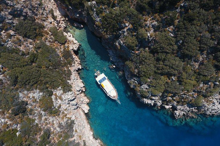 Private Boat Trip to Kas Islands including BBQ Lunch, Kas, TURQUIA