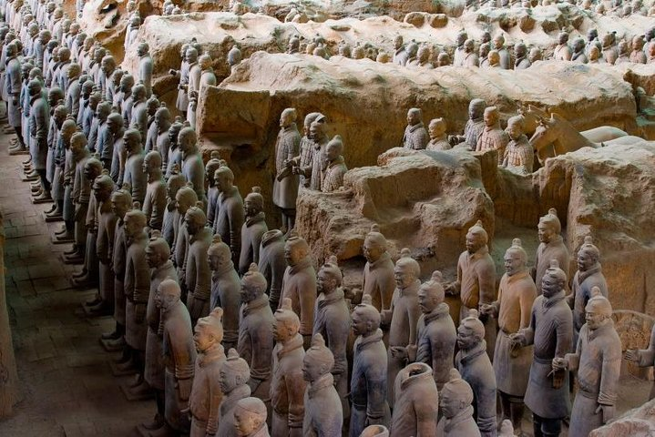Private Tour: Terracotta Warriors and Han Yang Ling Mausoleum from Xi'an, Sian, CHINA