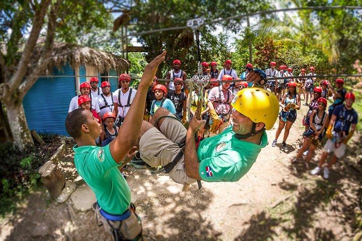 Zipline Adventure in Punta Cana, Punta de Cana, REPUBLICA DOMINICANA