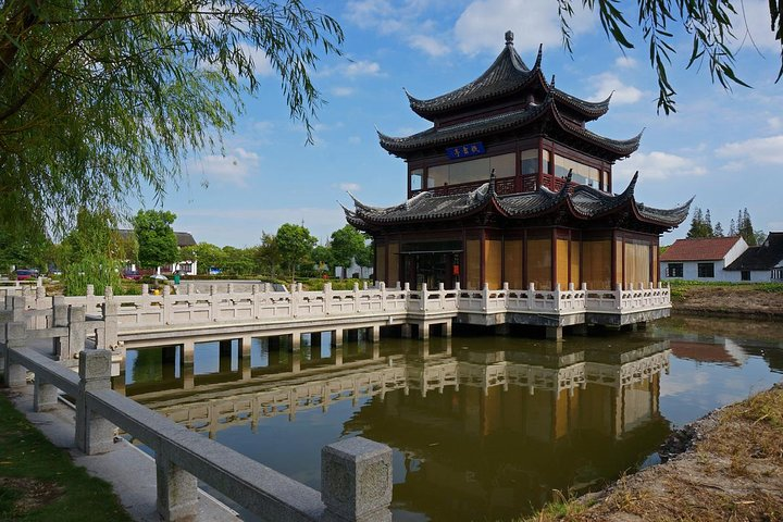 Half Day Private Tour to Zhaojialou Ancient Town with Lunch and Boat Ride, Shanghai, CHINA