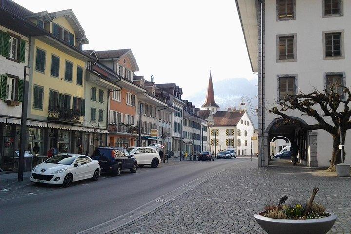 Interlaken City Tour plus Harder Mountain (Top of Interlaken) Private Tour, Interlaken, Suíça