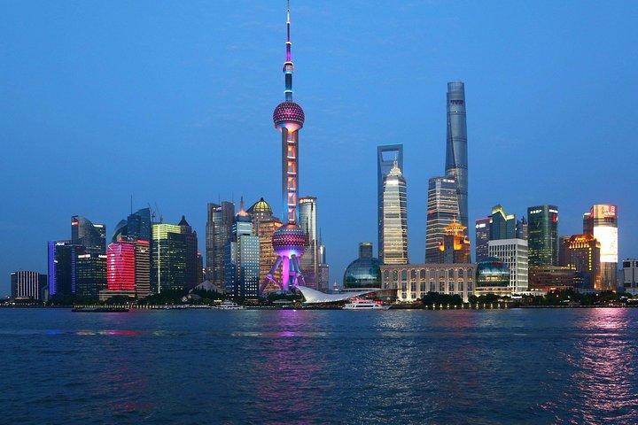 Zhujiajiao Water Town and Shanghai City Private Day Tour, Shanghai, CHINA